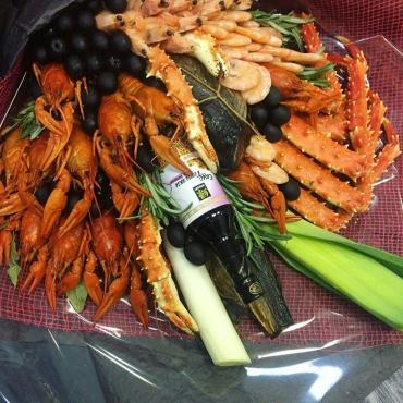 Раки и морепродукты