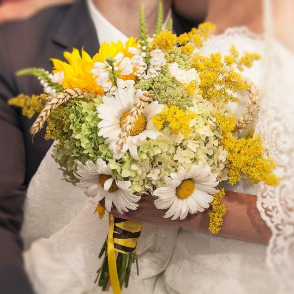 Свадебный букет №58
