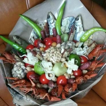 Раки и морепродукты №10