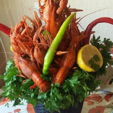 Раки и морепродукты №13