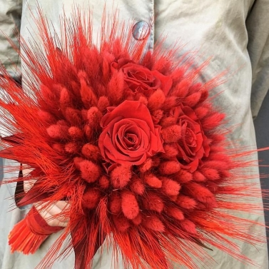 Букет из сухоцветов №24
