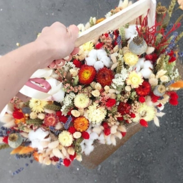 Букет из сухоцветов №34
