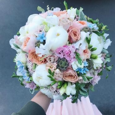 Свадебный букет №37