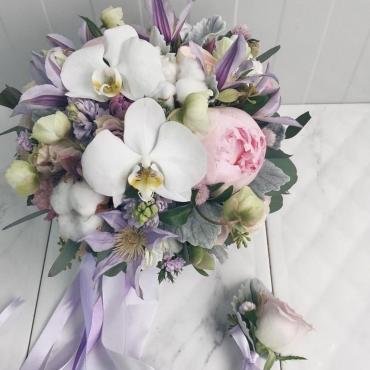 Свадебный букет №39