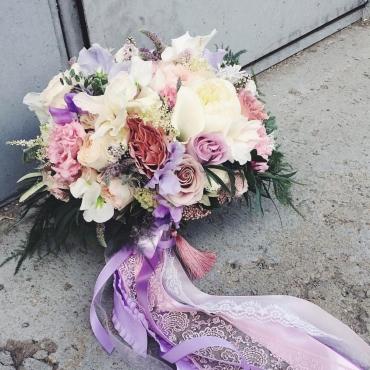 Свадебный букет №46