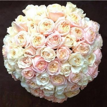 Букет из 101 розы сорта Анжи