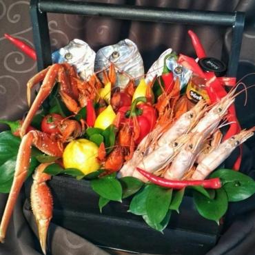 Раки и морепродукты №9